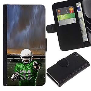 Stuss Case / Funda Carcasa PU de Cuero - 31 de fútbol - Apple Iphone 4 / 4S