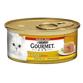 Gourmet - Gold Alimento para gatos Fondant con pollo, 85 g: Amazon.es: Jardín