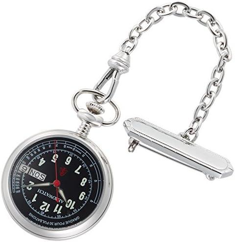 [アエロウォッチ] 懐中時計 32825PD03 正規輸入品