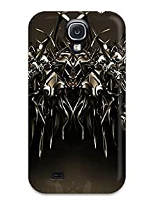 (cGpSCtd8781VXoSR)durable Protection Case Cover For Galaxy S4(cyber Monster Cgi Abstract Cgi)