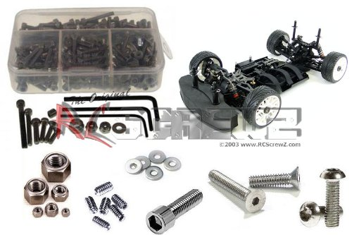 RC Screwz Stainless Steel Screw Kit for OFNA Ultra GTP 2e Electric #ofn061