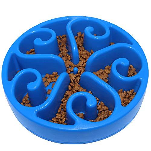 FONLAM Dog Slow Feeder Bowl Slow Maze Food Bowls Feed Interactive Bloat Stop Dog Bowl Anti-Skid Anti-ChockingDesign