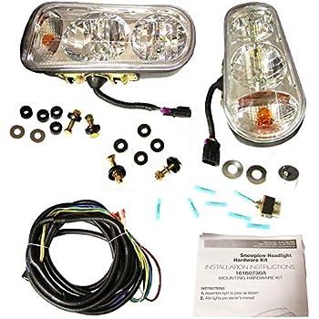Amazon.com: Buyers Products 1311100 Universal Snowplow Light ... on