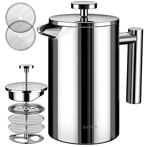BAYKA Stainless Steel French Pre...