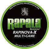 ラパラ(Rapala) PEライン ラピノヴァX マルチゲーム 150m 0.3号 7.2lb ライムグリーン RLX150M03LG