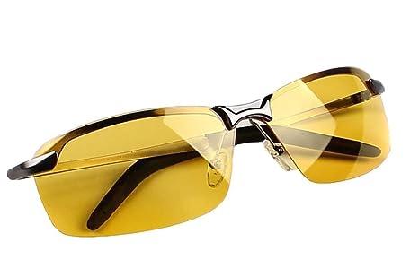 Butterme Gafas Polarizadas de Visión Nocturna,Gafas de Conducción Nocturna con Protección UV Antirreflectante (