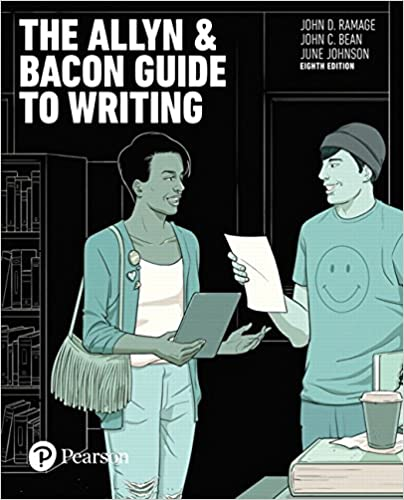 Amazon Com The Allyn Bacon Guide To Writing 8th Edition