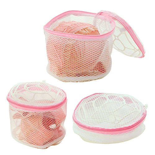Seazhio New Fashion Drying Rack Basket Wash Protect Bag Bra