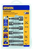 IRWIN Tools Power-Grip Screw and Bolt Extractor Set, 7-Piece (394100)