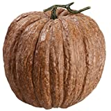 12''Hx11''W Artificial Weighted Pumpkin -Brown (pack of 2)