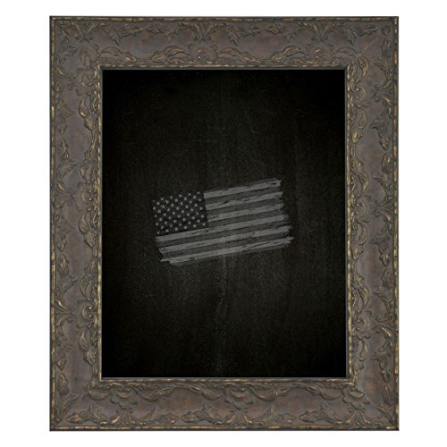 Rayne Mirrors American Made Rayne Maclaren Brown Blackboard/ Chalkboard Exterior Size: 24 x 24 by Rayne Mirrors