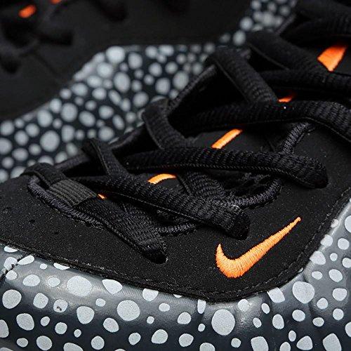 Nike Scarpe Sportive Da Uomo - Air Foamposite One Prm Safari Antracite E Arancione Colore Totalmente