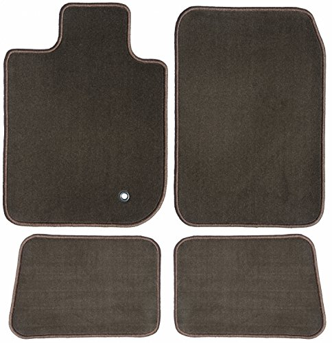 GG Bailey D60036-S1A-CH-BR Two Row Set Custom Car Mat, Chocolate Brown (For Select Mercedes-Benz E300 Models (Standard))