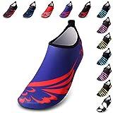 AGOLOD Boys Girls Mens Womens Quick-Dry Surf Aqua Shoes Beach Swim Water Shoes Beach Volleyball Beach Walking Running Snorkeling Water Park Swimming Surf