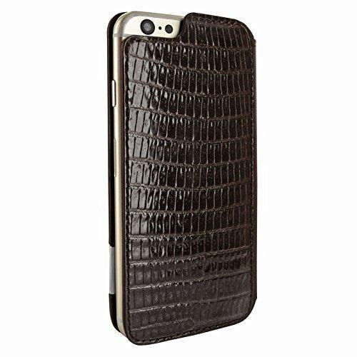Piel Frama 686LAM Etui rigide de protection design Lizard pour iPhone 6 Plus Marron