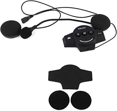 Bluetooth Headphones Motorcycle Helmet Bluetooth Headset Speakers Handsfree Music Call Control Earphone
