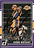 Kobe Bryant Los Angeles Lakers Autographed Signed Panini Card -- COA
