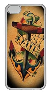iPhone 5C Case and Cover - Faith 2 PC case Cover for iPhone 5C Transparent