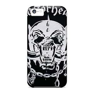 Iphone 5c Exp2806vzBv Custom Lifelike Motorhead Band Pictures Shockproof Cell-phone Hard Cover -AlainTanielian