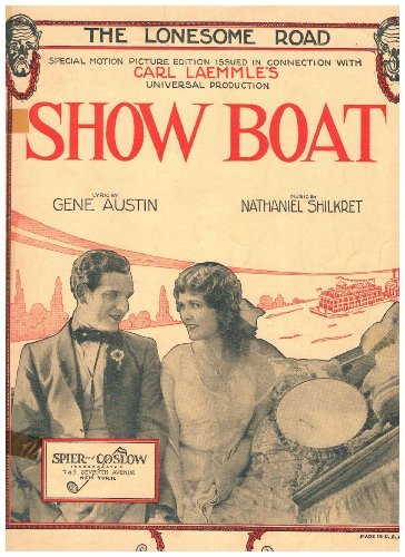 THE Lonesome Road Sheet Music (SHOW BOAT)