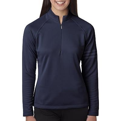 e3d621882017 Adidas Ladies  Performance Half-Zip Training Top (Navy) (X-Large ...