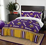 The Northwest Company NFL Minnesota Vikings Full Bed in a Bag Complete Bedding Set #481877198