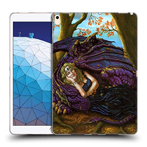 Official Ed Beard Jr Escape to The Land of Nod Dragon Friendship Soft Gel Case Compatible for iPad Air (2019) (Best Ipad Escape Games 2019)