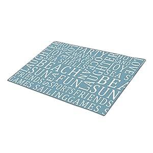DJgirl Typography Beach Cool Doormats
