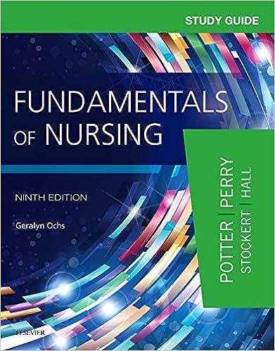 Study Guide for Fundamentals of Nursing: 9780323396448