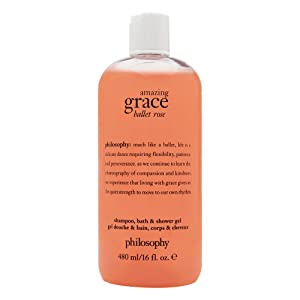 Philosophy Amazing Grace Ballet Rose 16.0 oz Shampoo, Bath & Shower Gel