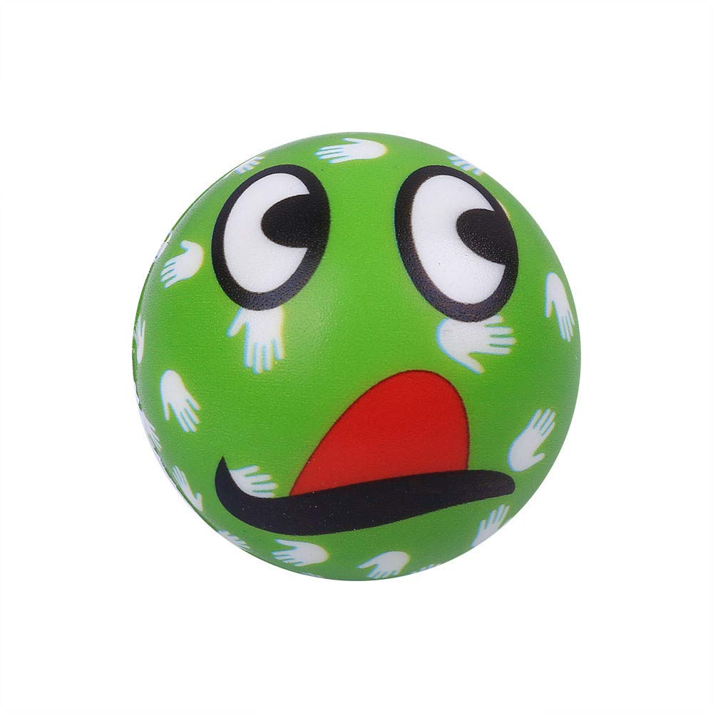 Sagton Stress Relief Anxiety Relief Toys, Lovely Mouth Emotion Ball Slow Rising Scented Cream Squeeze Toy for Adult Kids