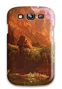 DeniseMA Slim Fit Tpu Protector GHVZXip2528WwCSB Shock Absorbent Bumper Case For Galaxy S3