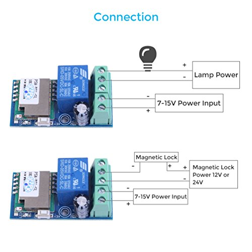 51z%2Bo7ib0IL.01_SL500_ wifi inching relay delay switch module low power smart home remote Basic Electrical Wiring Diagrams at bakdesigns.co