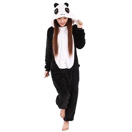 TOOGOO(R) - Pijama de cuerpo entero unisex, para mujer y hombre,