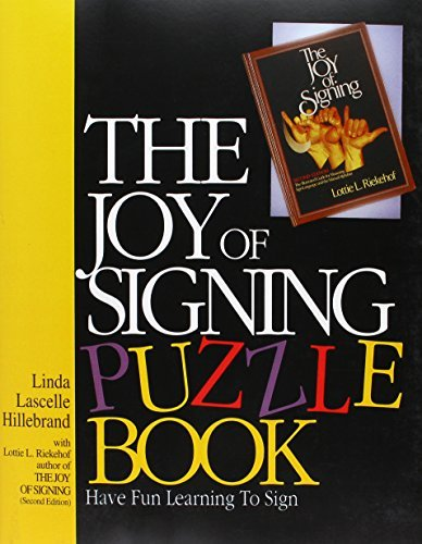 (The Joy of Signing Puzzle Book by Linda L. Hillebrand (1989-01-01))