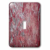 3dRose lsp_271125_1 Image of Distressed Reddish Wood Toggle Switch, Mixed