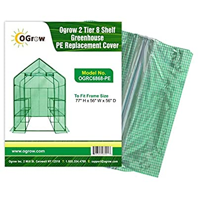 Ogrow Greenhouse Replacement Cover.