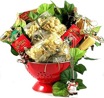 gift basket village christmas in italy italian christmas basket medium - Italian Christmas