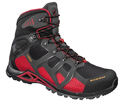Mammut Comfort - Zapatillas de trekking Hombre - high, GTX Surround gris/negro 2016 BLACK-INFERNO