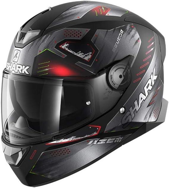 Motorcycle helmets Shark SKWAL 2.2 VENGER KXK S Black//Cam?l?on