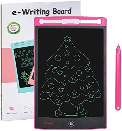 SCRIMEMO LCD Schreibtafel für Kinder 8,5 Zoll, Handschrift Notizblock, Zeichnung Boards Schreibtafel für Kinder Super als Geschenke für 3-12 Jahre Mädchen Junge (Rosa)