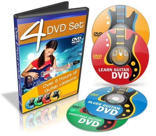 9-Hours-Guitar-Lessons-Learn-How-to-Play-Guitar-4-DVD-Combo-Set