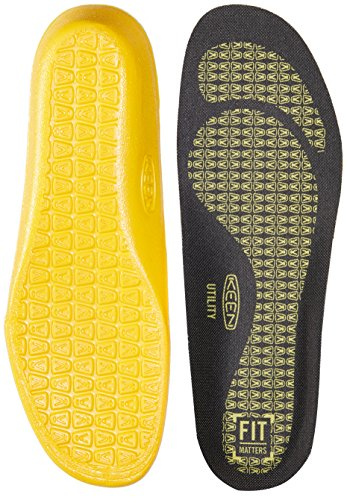 KEEN Utility Utility K-20 Cushion Insole, Black, Medium (9-10)