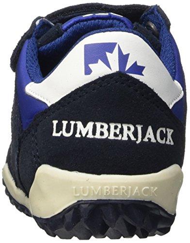 Lumberjack Knife, Zapatillas con Velcro Unisex Niños Multicolor (Cc001 Navy Blue)
