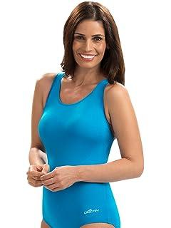 31bd2672f80 Amazon.com: Dolfin Color-Block Conservative Lap Suit Womens: Clothing