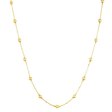 longer chain ball length necklace only products grande individual