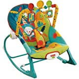 Fisher-Price Infant to Toddler Rocker Sleeper, X7046, Safari Pattern Review