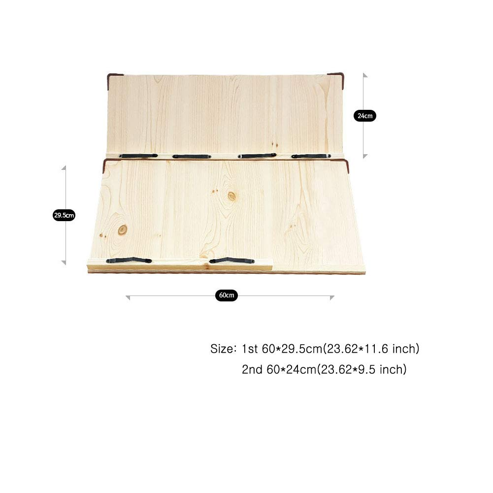 Wiz BookStand, Holder, Cookbook, Music for 2 more books (23.62'') by Wiz (Image #3)