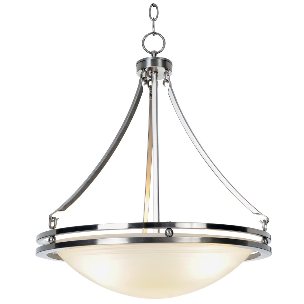 Monument 617600 Contemporary Brushed Nickel Pendant, 16-5/8 X 23-1/2 In. by Unknown