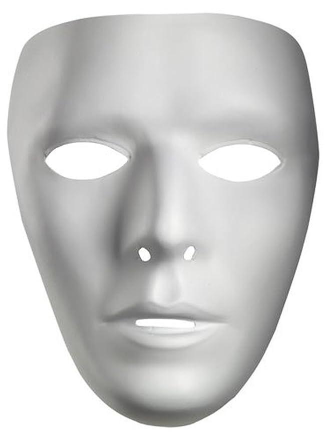 amazon com male blank no face plastic mask clothing